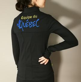 Veste sportive Équipe du Québec - Dos / Équipe du Québec sport tracksuit jacket - Back
