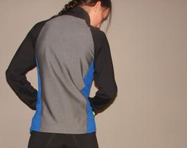 Veste sportive 3 tons - Dos / Sport tracksuit jacket 3 colors - Back