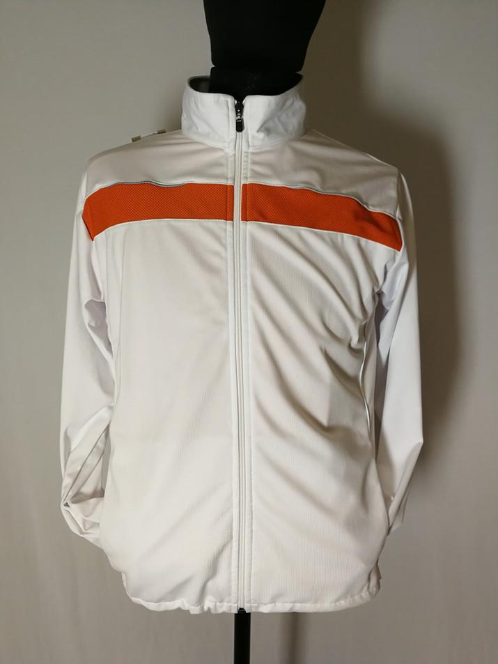 Veste sportive Homme  2 tons - Devant / Man sport tracksuit jacket 2 colors - Front