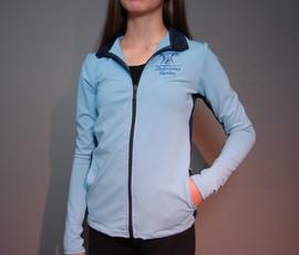 Veste patinage 2 tons - Devant / Skate tracksuit jacket 2 colors - Front