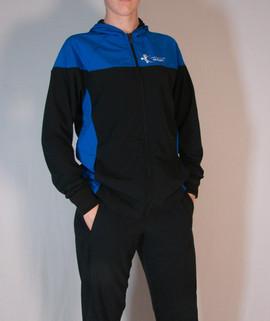 Veste sportive Gymnastique Québec 2 tons - Devant / Gymnastique Québec sport tracksuit jacket 2 colors - Front