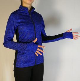 Veste sportive - Devant / Sport tracksuit jacket - Front