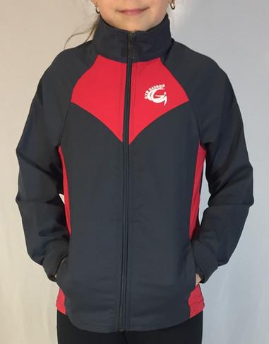 Veste sportive Gadbois 3 tons (enfant) - Devant / Gadbois sport tracksuit jacket 3 colors (kid) - Front