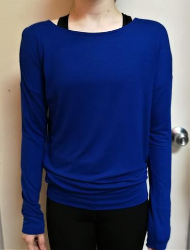 T-shirt sportif manches longues sportifs - Devant / Long sleeves sport t-shirt - Front