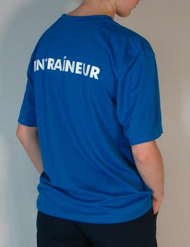 T-shirt Gymnamic sportif - Dos / Gymnamic sport t-shirt - Back