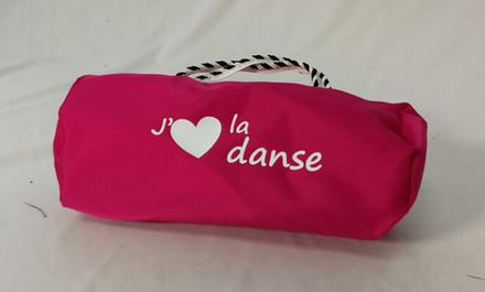 Sac pour chaussons - Devant / Ballet shoes bag - Front