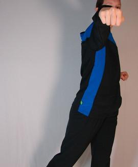 Veste sportive Gymnastique Québec 2 tons - Côté / Gymnastique Québec sport tracksuit jacket 2 colors - Side