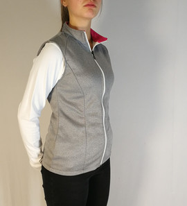 Veste sans manche - Côté / Sport tracksuit jacket without sleeve - Side