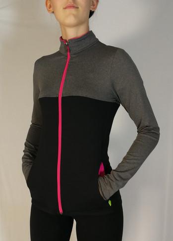 Veste sportive Shergym 3 tons - Devant / Shergym sport tracksuit jacket 3 colors - Front