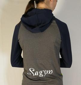 Veste sportive Sagym 2 tons - Dos / Sagym sport tracksuit jacket 2 colors - Back