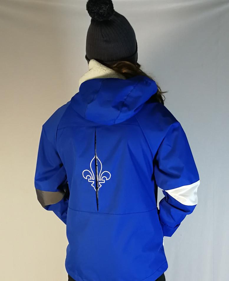 Manteau sportif - Dos / Sport coat - Back
