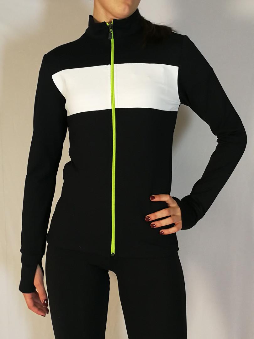 Veste sportive 3 tons - Devant / Sport tracksuit jacket 3 colors - Front