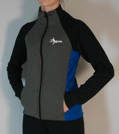 Veste sportive Viagym 3 tons - Devant / Viagym sport tracksuit jacket 3 colors - Front