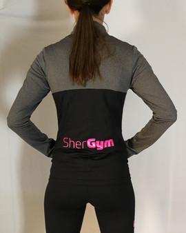 Veste sportive Shergym 3 tons - Dos / Shergym sport tracksuit jacket 3 colors - Back