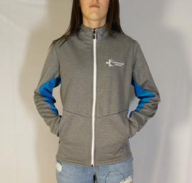 Veste sportive Jeux du Québec 3 tons - Devant / Jeux du Québec sport tracksuit jacket 3 colors - Front