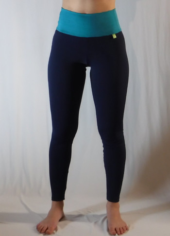 Leggings polaire 2 tons - Devant / Polar leggings 2 colors - Front