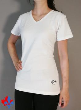 T-shirt col en v-TIM-M1-Blanc.jpg