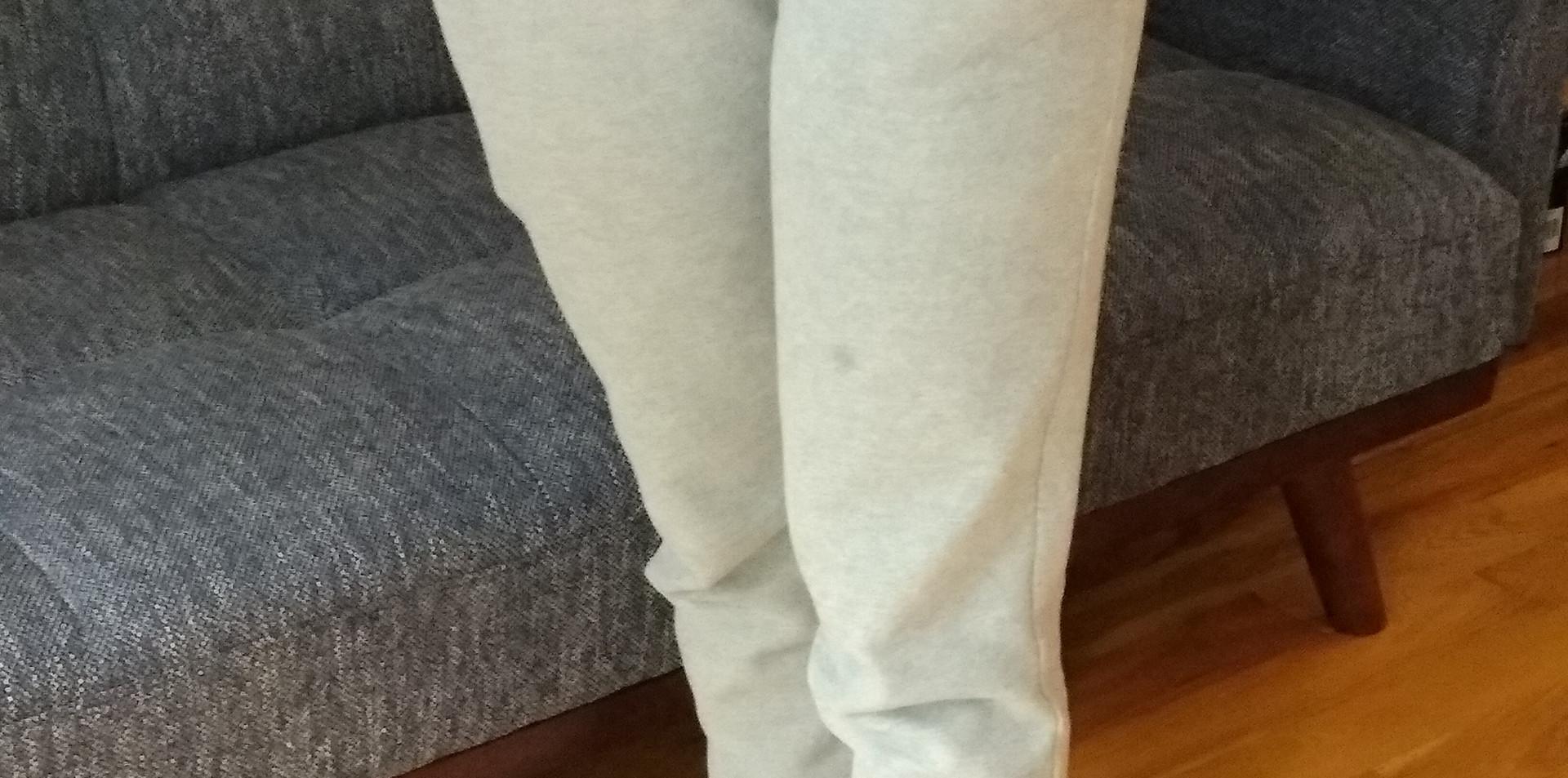 Pantalon sportif en molleton - Devant / Fleece sport pants - Front