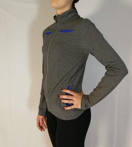 Veste sportive 2 tons - Côté / Sport tracksuit jacket 2 colors- Side
