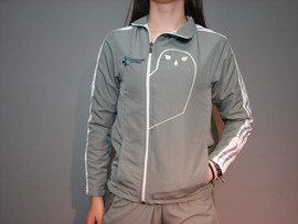 Veste sportive Harfang - Devant / Snowy owl sport tracksuit jacket - Front