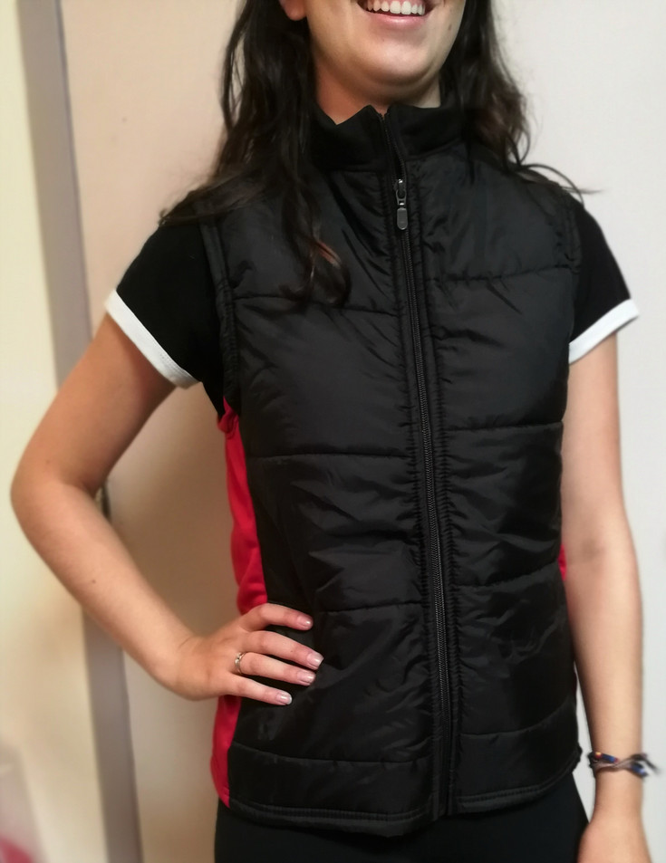Doudoune sportive Les Châtelaines - Devant / Les Châtelaines puffy sport jacket - Front