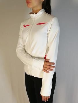 Veste sportive 2 tons - Côté / Sport tracksuit jacket 2 colors - Side