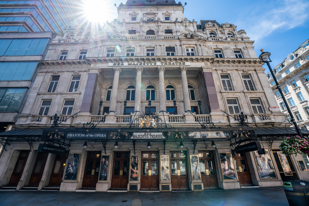 Her Majesty's Theatre.