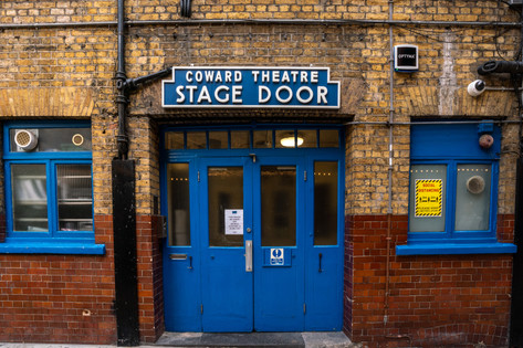 Noël Coward Theatre Stage Door.