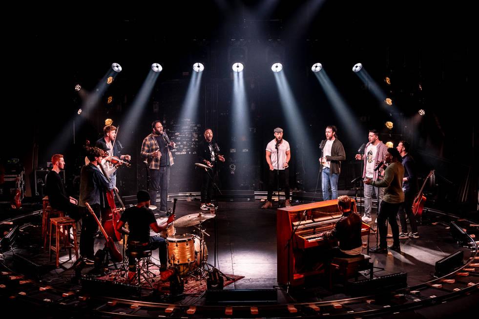 Choir of Man. Garrick Theatre. December 2020.