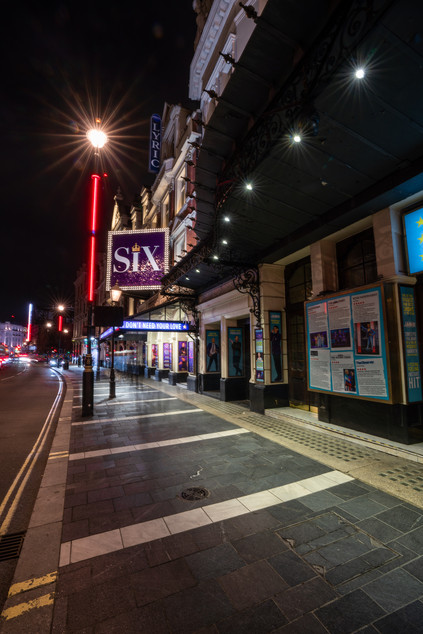 Lyric Theatre, Shaftesbury Avenue. Six The Musical.