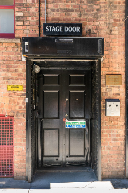 Shaftsbury Theatre Stage Door.
