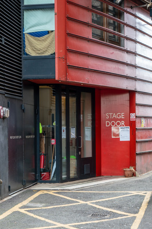 Royal Court Stage Door.