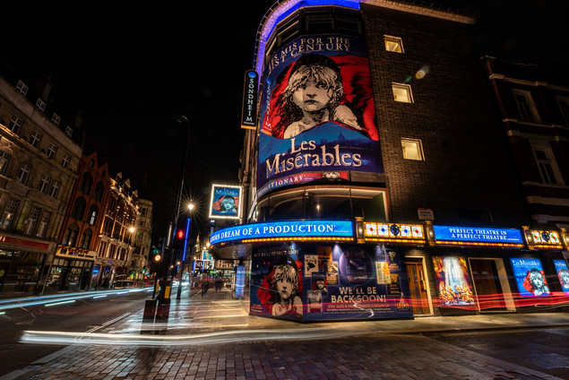 Sondheim Theatre, London 2020.