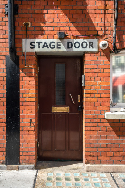 Ambassadors Theatre Stage Door.