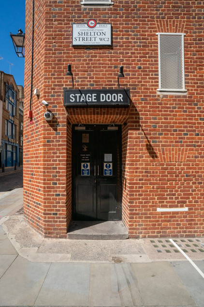 Cambridge Theatre Stage Door.