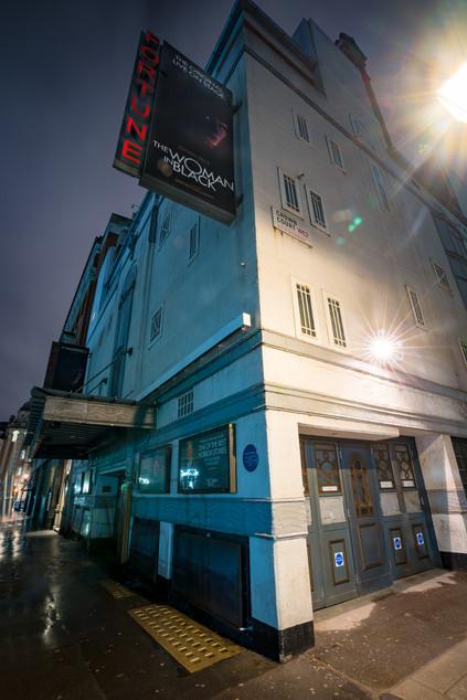 Fortune Theatre, London.