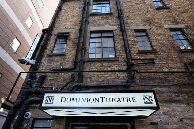 Dominion Theatre Stage Door.