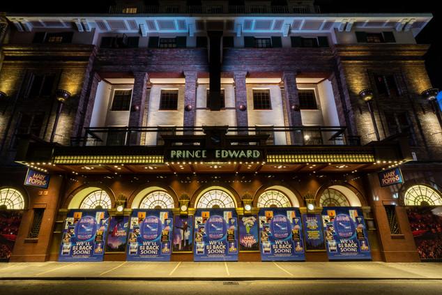 Prince Edward Theatre, London.