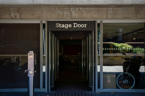 The National Theatre Stage Door.