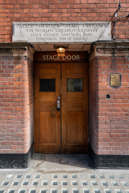 Palace Theatre Stage Door.