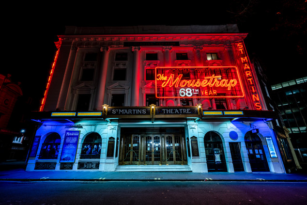 ST Martin's Theatre, London.
