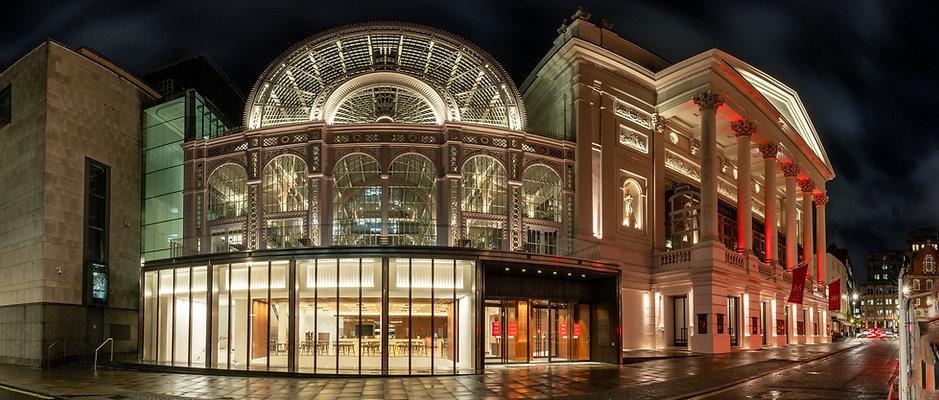 Royal Opera House Panorama. London 2020.