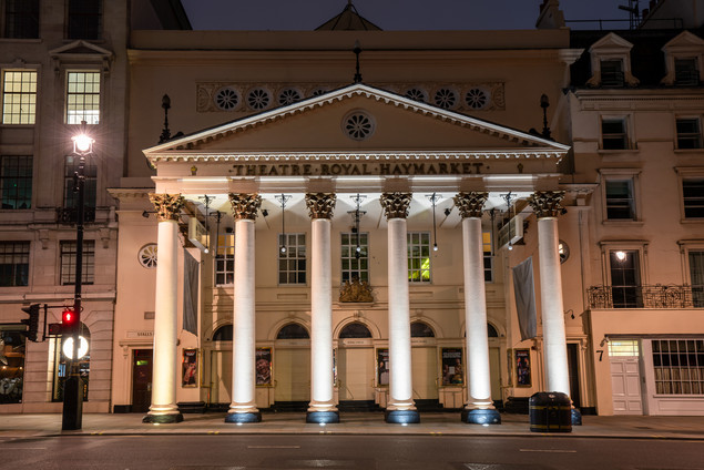 Theatre Royal Haymarket, London.