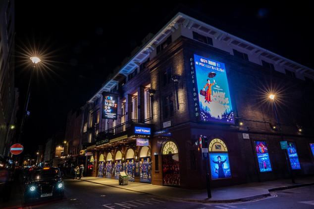 Prince Edward Theatre, London 2020.
