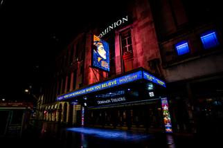 Dominion Theatre, London.