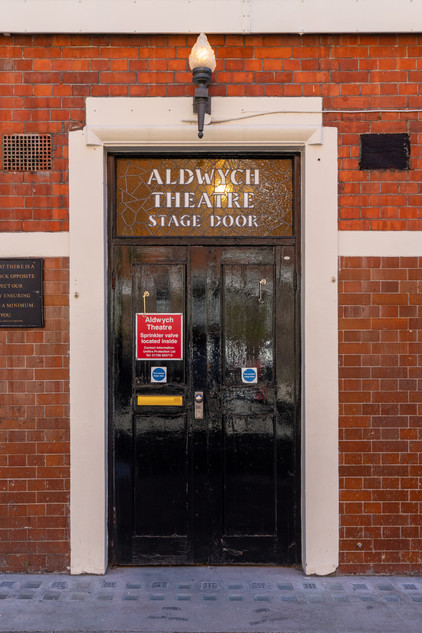 Aldwych Theatre Stage Door.