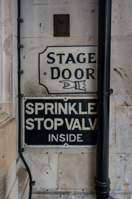 Her Majesty's Theatre Stage Door.
