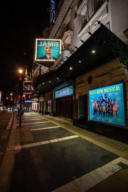 Apollo Theatre. London 2020.