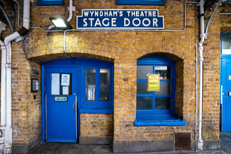 Wyndham's Stage Door.