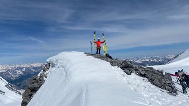 Punta degli Spiriti 3467 m - Anticima 3473 m - P.ta del Cristallo 3450 m - P.ta del Naso 3272 m